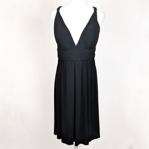 Calvin Klein Braided Shoulder Cocktail Dress 12